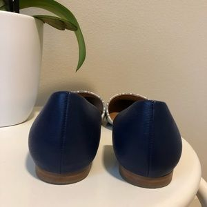 Calvin Klein Shoes - LIKE NEW | Calvin Klein Blue & White Open Flat